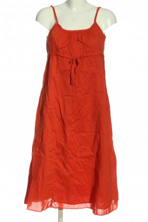 Qiero Pinafore dress red casual look
