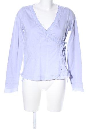Qiero Wickelshirt blau Casual-Look