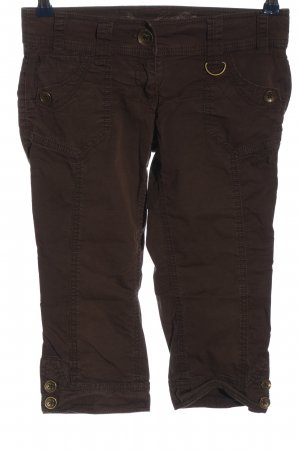 QS by s.Oliver 3/4-Hose braun Casual-Look