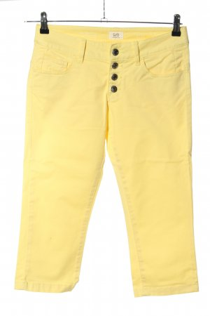 QS by s.Oliver 3/4-Hose blassgelb Casual-Look