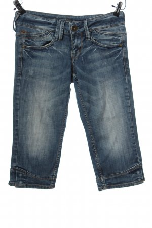 QS by s.Oliver 3/4-jeans blauw casual uitstraling