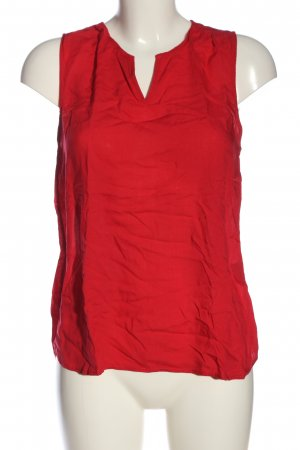 QS by s.Oliver ärmellose Bluse rot Casual-Look