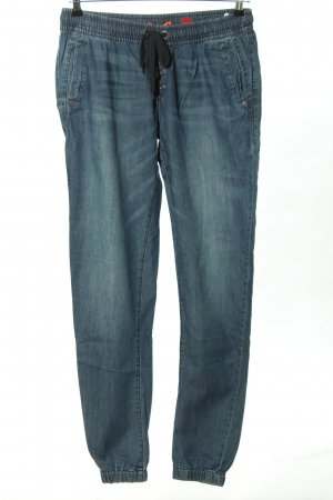 QS by s.Oliver Baggy Pants blau Casual-Look
