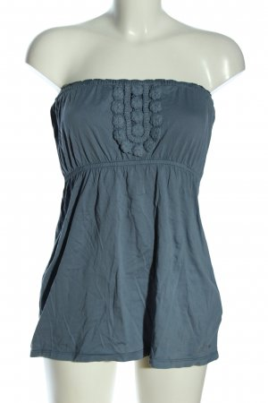 QS by s.Oliver Bandeautop blau Casual-Look
