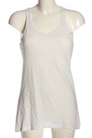 QS by s.Oliver Basic Top weiß Casual-Look