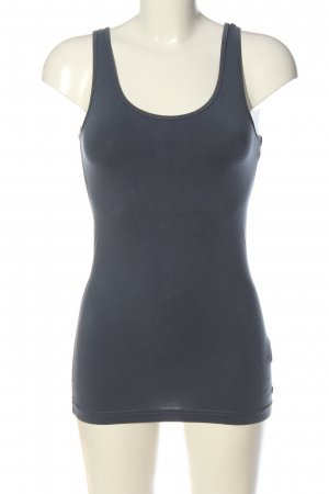 QS by s.Oliver Basic Top hellgrau Casual-Look