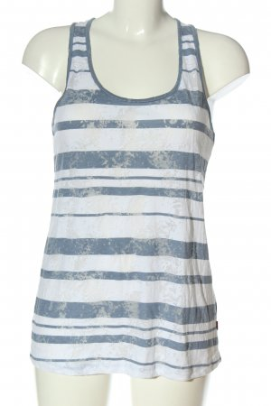 QS by s.Oliver Basic Top Streifenmuster Casual-Look