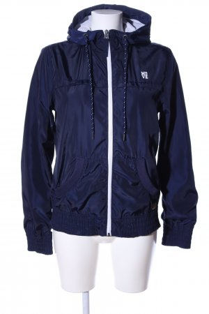 QS by s.Oliver Blouson blau Casual-Look