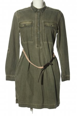 QS by s.Oliver Blusenkleid khaki Casual-Look