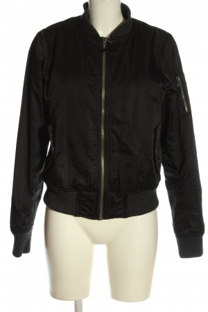 QS by s.Oliver Bomberjacke schwarz Casual-Look