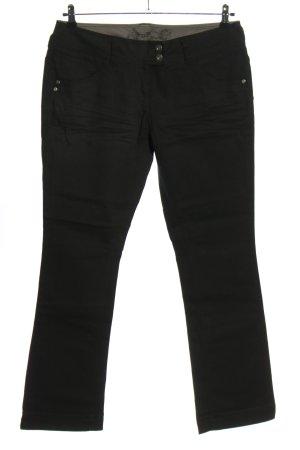 QS by s.Oliver Jeansy o kroju boot cut czarny W stylu casual