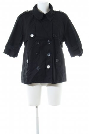 QS by s.Oliver Pea Jacket black casual look