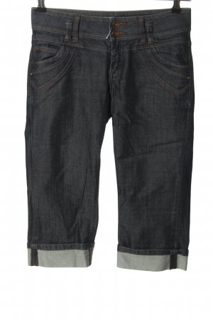 QS by s.Oliver Caprihose blau Casual-Look