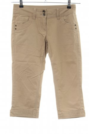 QS by s.Oliver Caprihose wollweiß Casual-Look