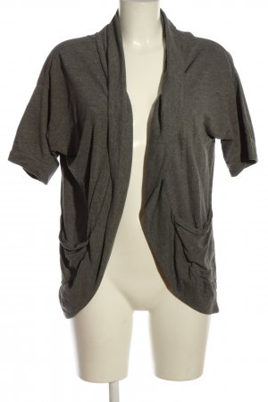 QS by s.Oliver Cardigan hellgrau meliert Casual-Look