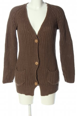 QS by s.Oliver Cardigan braun Casual-Look