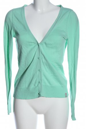 QS by s.Oliver Cardigan türkis Casual-Look