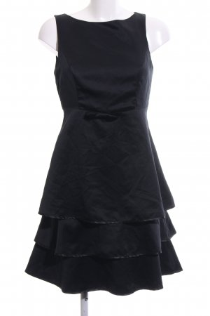 QS by s.Oliver Chiffonkleid schwarz Business-Look