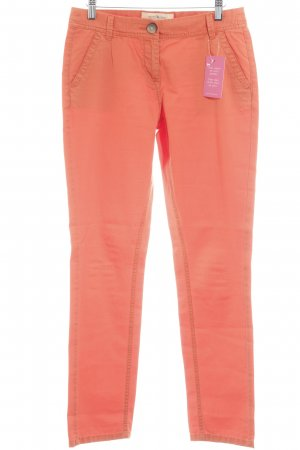 QS by s.Oliver Chinohose orange Casual-Look