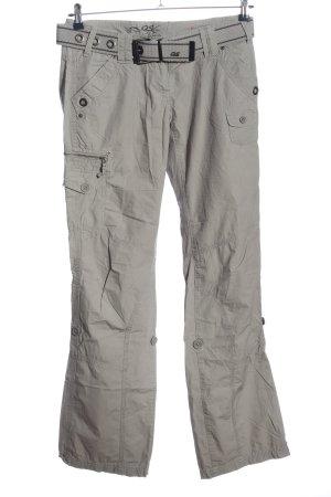 QS by s.Oliver Pantalone cargo grigio chiaro stile casual