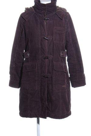 QS by s.Oliver Duffle-coat violet style décontracté