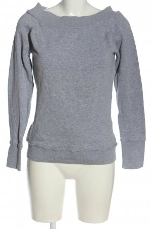 QS by s.Oliver Feinstrickpullover hellgrau meliert Casual-Look