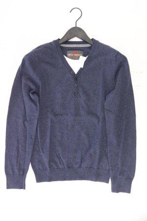 QS by s.Oliver Fine Knit Jumper blue-neon blue-dark blue-azure cotton