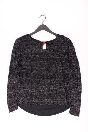 QS by s.Oliver Fine Knit Jumper black polyester
