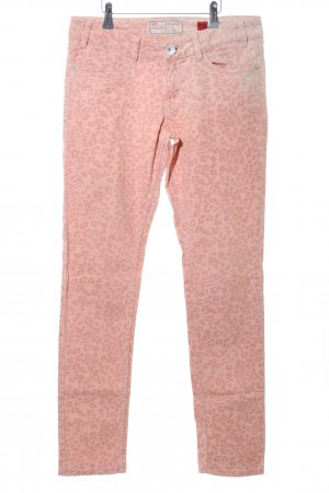 QS by s.Oliver Five-Pocket-Hose pink Leomuster Casual-Look