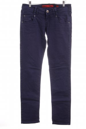 QS by s.Oliver Five-Pocket-Hose dunkelblau Nietenelemente