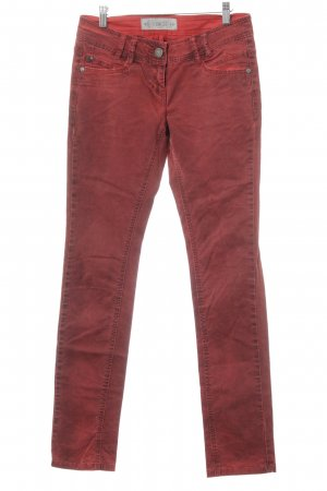 QS by s.Oliver Five-Pocket-Hose rostrot Casual-Look
