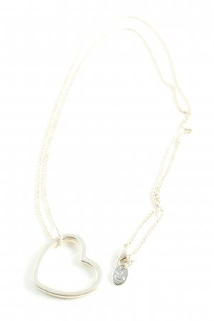 QS by s.Oliver Ketting zilver casual uitstraling