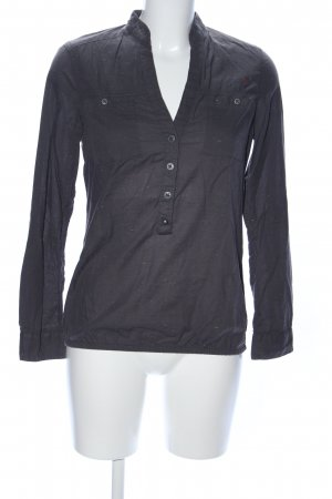 QS by s.Oliver Hemd-Bluse schwarz Casual-Look