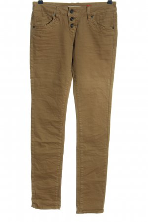 QS by s.Oliver High Waist Jeans bronzefarben Casual-Look