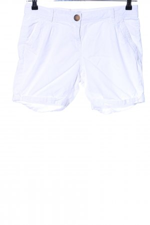 QS by s.Oliver High-Waist-Shorts weiß Casual-Look