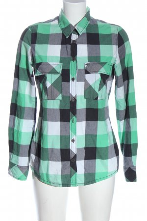 QS by s.Oliver Holzfällerhemd Allover-Druck Casual-Look