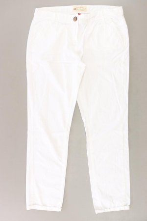 QS by s.Oliver Trousers natural white cotton