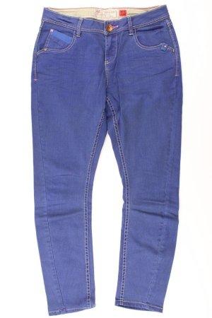 QS by s.Oliver Hose Größe W36 blau aus Baumwolle