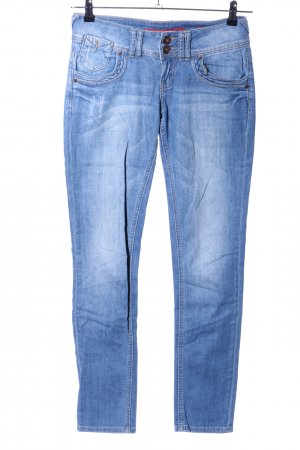 QS by s.Oliver Low-Rise Trousers blue casual look