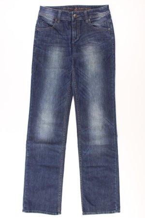 QS by s.Oliver Jeans Größe 34 blau aus Baumwolle