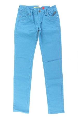 QS by s.Oliver Jeans Größe 34/L32 türkis aus Baumwolle