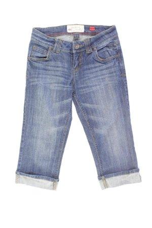QS by s.Oliver Jeans Größe W34 blau aus Baumwolle