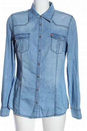 QS by s.Oliver Denim Shirt blue casual look