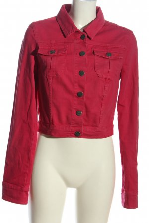 QS by s.Oliver Jeansjacke pink Casual-Look