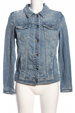 QS by s.Oliver Jeansjacke blau Casual-Look