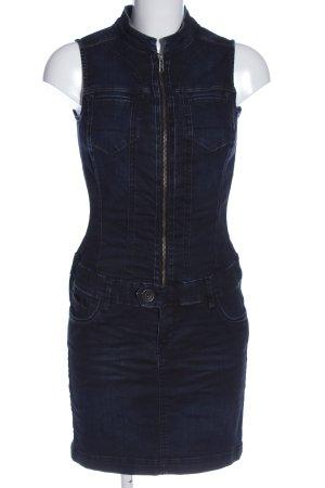 QS by s.Oliver Jeansowa sukienka niebieski W stylu casual