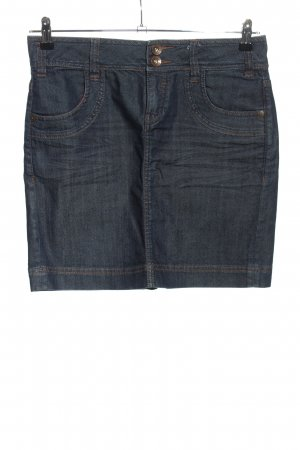 QS by s.Oliver Gonna di jeans blu stile casual