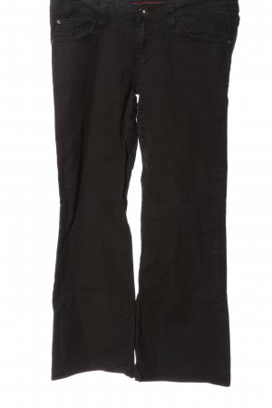 QS by s.Oliver Denim Flares black casual look