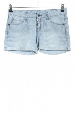QS by s.Oliver Jeansshorts blau Streifenmuster Casual-Look