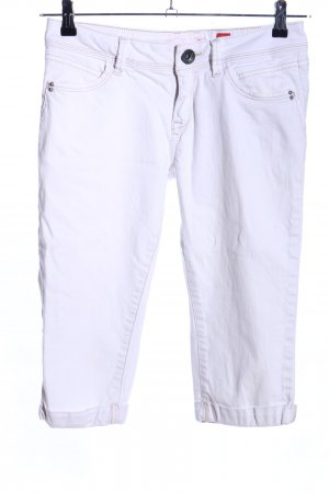 QS by s.Oliver Jeansshorts weiß Casual-Look
